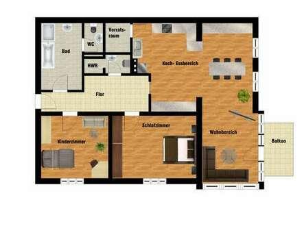 Gestaltet Euere eigene 3 Zimmerwohnung aus diesem Atelier!