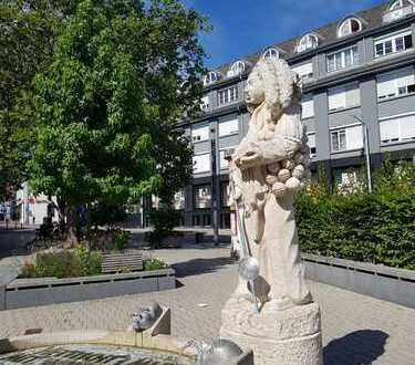 Schöne, helle 1-Zimmer-Wohnung mit Aussicht, zentral in Schwenningen