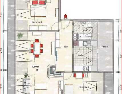 Attraktive Dachgeschosswohnung in begehrter Wohnlage
