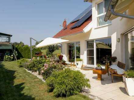 Modernes Einfamilienhaus (Bj. 2012) in sonniger Ortsrandlage - Dießen am Ammersee