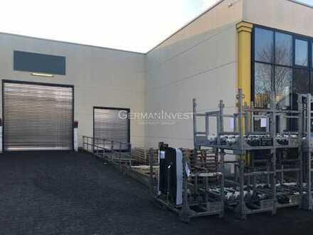 776 m² Halle   ebenerdig + Rampe   5,75 m Höhe