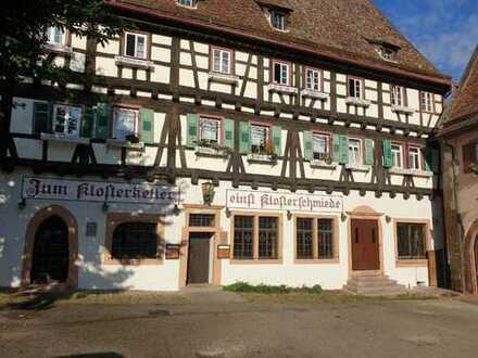 *** Brauereifreie historische Gastronomie im Maulbronner Kloster zu verpachten ***