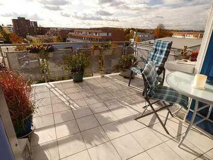 Familienglück - schöne 3,5 Zimmer Dachgeschosswohnung mit Balkon!