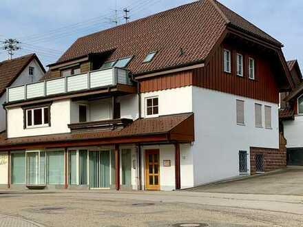 Ladenfläche inkl. Nebenräume in Schömberg zu verpachten