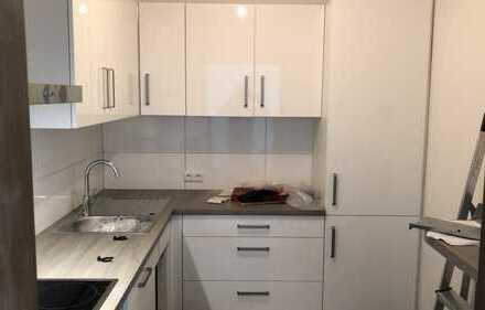 Erstbezug nach Sanierung: freundliche 2-Zimmer-Wohnung mit EBK und Balkon in zentr. Lage Offenbach