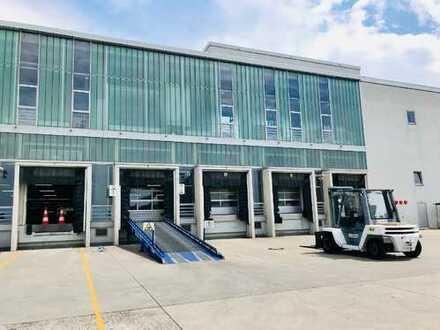 Lagerfläche 961 m², PROVISIONSFREI, mit 3 Rampen in 60386 Frankfurt Main wahlw. m. Büro zu vermieten