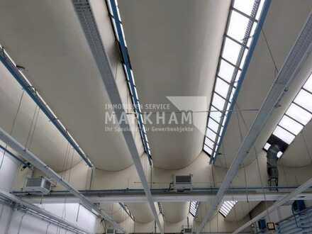 Halle mit flexibler Raumaufteilung und guter Verkehrsanbindung!