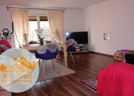 WOHNWELT IMMOBILIEN: Gemütliche 3-Zimmer-EG-Wohnung mit Süd-Terrasse und Garten