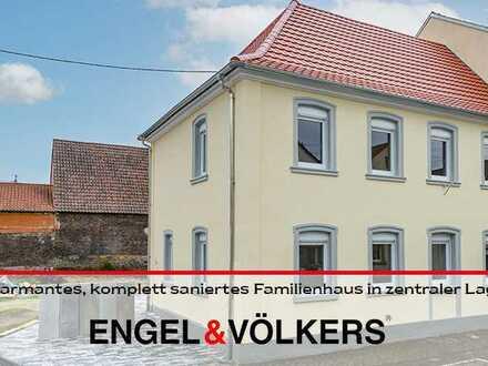 Charmantes, komplett saniertes Familienhaus in zentraler Lage von Neustadt-Geinsheim!