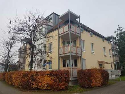 Großzügige und helle 1-Raum-Wohnung mit Einbauküche und Balko in Leipzig-Wiederitzsch