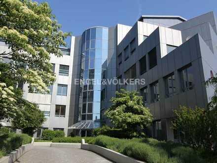 Moderne Penthouse-Fläche mit großer Terrasse