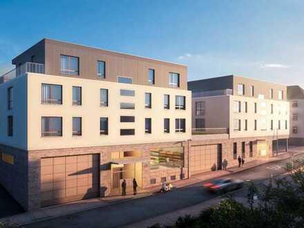 Barrierefreie 2-Zimmer-Wohnung mit Terrasse im 1. OG (Whg . 9) - Besichtigung am Sa, 04.07., 13-14 h