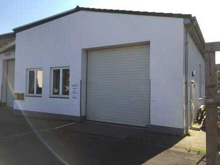 429 m² große Halle in Bielefeld-Brake, direkt an B61