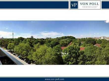 Oase über den Dächern von Schwabing 463m² persönlicher Freiraum, mit unverbaubarem Blick ins Grüne!
