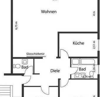Schöne, geräumige drei Zimmer Wohnung in Dortmund, Kirchhörde