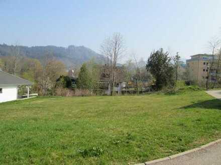 Exklusives Baugrundstück in Badenweiler