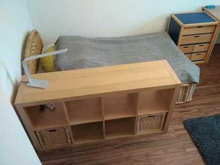 Möbliertes 15 qm²-Zimmer zur Untermiete