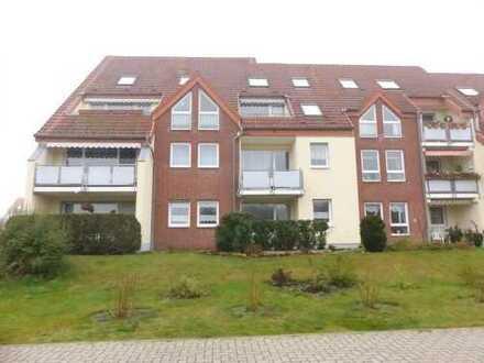 ruhige helle 2-Zimmer-Wohnung mit Balkon