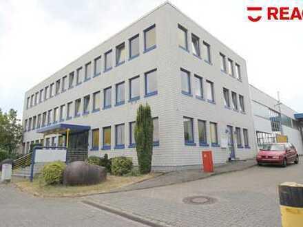Büro- und Lager-/Ausstellungsflächen im Gewerbegebiet Grüner Weg.