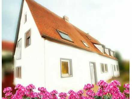 Lichtenau: Erstbezug einer Maisonettewohnung mit Balkon