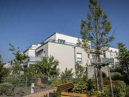 Modernes, exklusives Penthouse mit umlaufender Dachterrasse