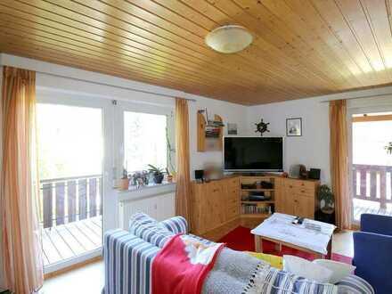 Schöne, gemütliche Maisonette-Wohnung mitten im Grünen