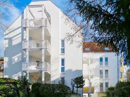Apartment in begehrter Wohnlage. Zu Fuß in die Innenstadt oder zum Bahnhof nur 10 Minuten