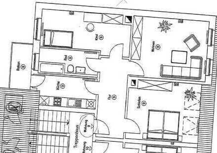 *KAPITALANLEGER* gepflegte Dachgeschosswohnung mit Balkon | Schleußig