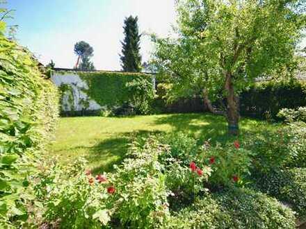 Garten-Wohnung mit toskanischem Flair