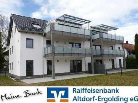 Neubauwohnung im Landshuter Westen - 3 Zimmer und Balkon