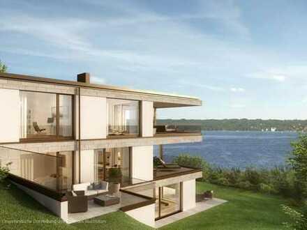 Großzügige Terrassenwohnung mit Süd-West-Loggia und traumhaftem Seeblick