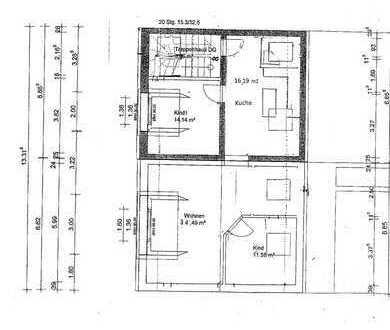 Exklusive, modernisierte 3-Zimmer-Dachgeschosswohnung mit Einbauküche in Frechen