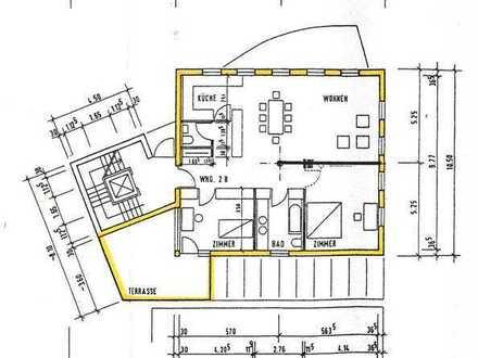 moderne und offene 3 Zimmer-Innenstadtwohnung
