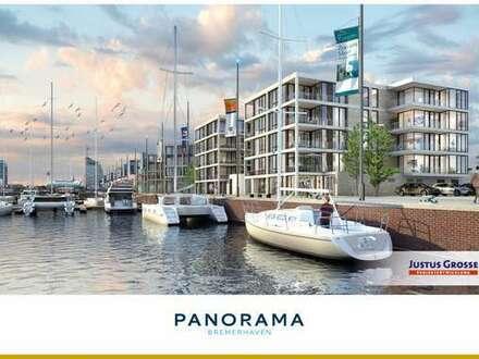 PANORAMA Bremerhaven - Hochwertige 2-Zimmer-Eigentumswohnung am Neuen Hafen