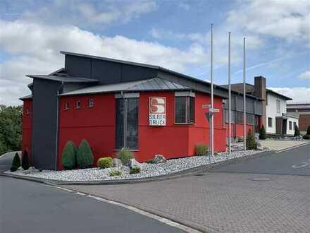 +PROVISIONSFREI+ Schicke gepflegte Gewerbeimmobilie Büro-Hallen + Wohnung in Niestetal / Kassel