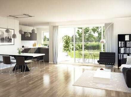 Jetzt Verkaufsstart: Moderne 3 - Zimmerwohnung mit Gartenanteil