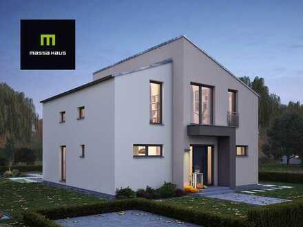 Stylisches Einfamilienhaus mit Pultdach & gehobener Ausstattung !