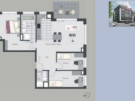 Erstbezug mit Einbauküche und Balkon: exklusive 4-Zimmer-Wohnung in Stuttgart