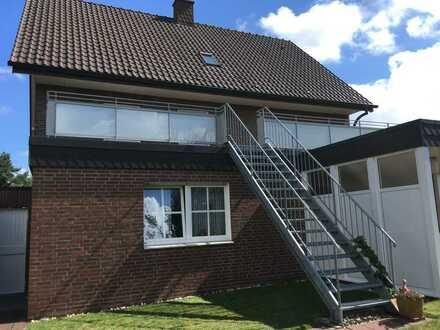 Zentral aber ruhig gelegene, 4-Zimmer Wohnung mit Dachterrasse in Stadlohn