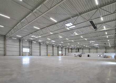 Neubau einer Lager- und Produktionsimmobilie