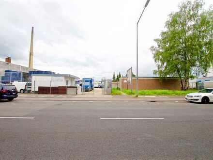 Köln- Bilderstöckchen, unbebautes Grundstück im Gewerbegebiet gelegen