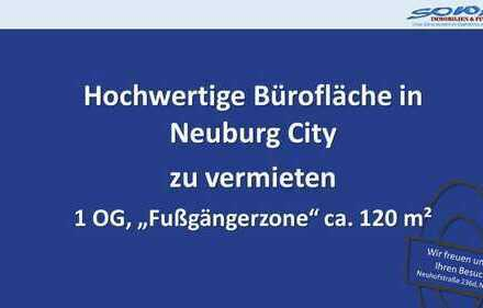 """Hochwertige Büroräume in Neuburger """"Fußgängerzone"""" z.B. Kanzlei, Rechtsanwalt, Steuerberater - SO..."""