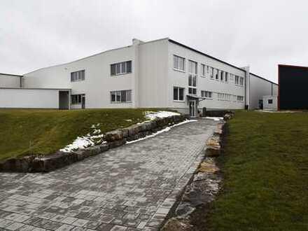 Lagerfläche mit Büro- und Sozialräumen