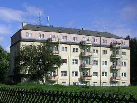 Burkhardtsdorf: Individuell geschnitten - 2-Raumwohnung mit Balkon