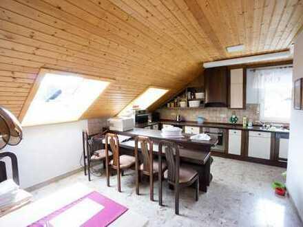 Musbach, 135 qm hochwertige Wohnung mit EBK, TG, Balkon