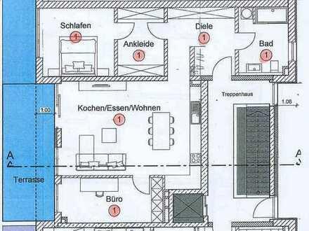Erstbezug: attraktive 3-Zimmer-Erdgeschosswohnung in Mainburg ab 1.2.2020