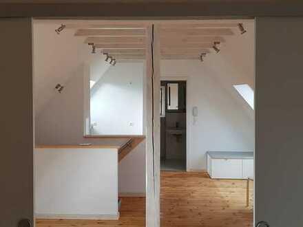 Erstbezug nach Sanierung mit Einbauküche: exklusive 2-Zimmer-DG-Wohnung in Heidelberg