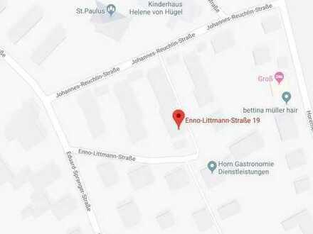 Renovierte 2-Zimmer-DG-Wohnung mit Küchenzeile und neuem Bad in Tübingen