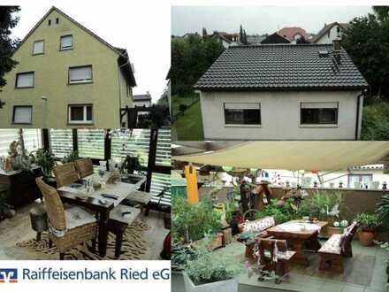 Zwei Häuser auf einem Grundstück ! Kapitalanlage in Bürstadt !