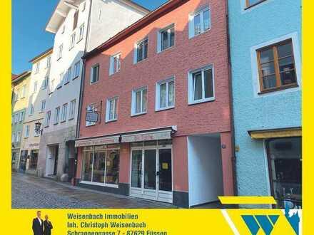Renovierte 2-Zimmer-Wohnung im Herzen der Füssener Altstadt